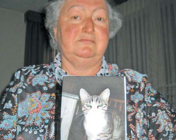Der Kater von Maria Tiefenthaler wurde vor wenigen Tagen in Gaißau vergiftet.