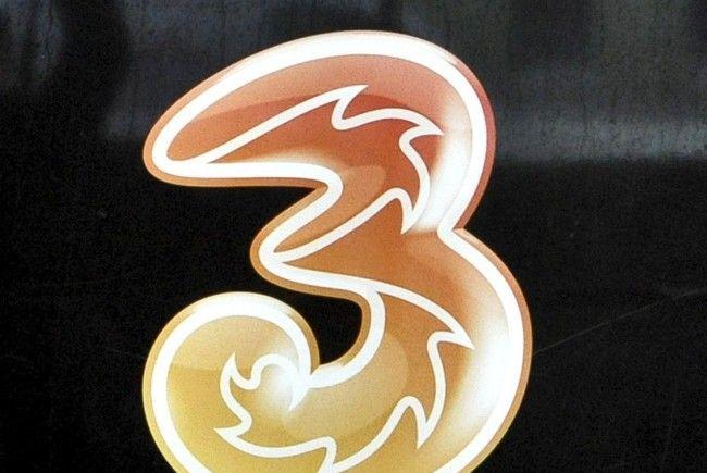 """Mit erheblichen Netzproblemen hatte der Mobilfunkbetreiber """"3"""" am Mittwoch zu kämpfen."""