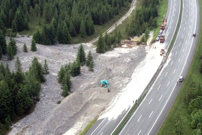 Unwetter wüteten im Pongau und Pinzgau