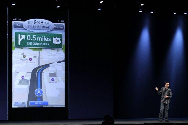 Apple präsentierte neue Landkarten-Software für iPhone und iPad.