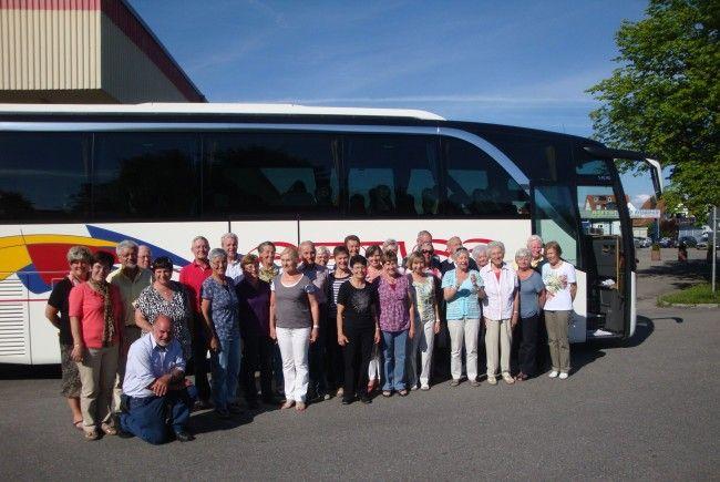 Mainau-Ausflug der Nenzinger Senioren/innen