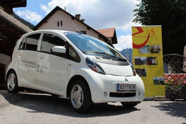 Elektroauto der Gemeinde Gaschurn