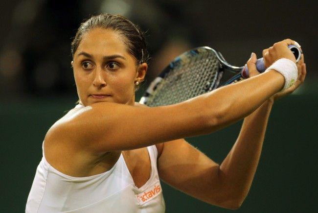 """Tamira """"Mimi"""" Paszek hat dritten Titel auf Tennis-WTA-Tour gewonnen."""