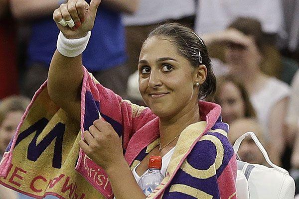 Tamira Paszek will Erfolgslauf in Wimbledon fortsetzen.