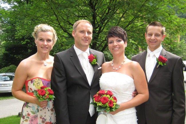 Andrea Mähr und Patrick Stadlbauer haben geheiratet.