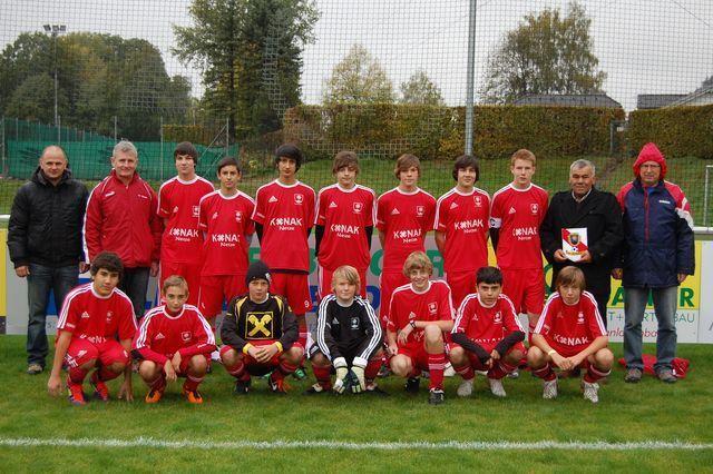 Zwei Meistertitel des FC Nüziders: U15 und U12 sind Meister