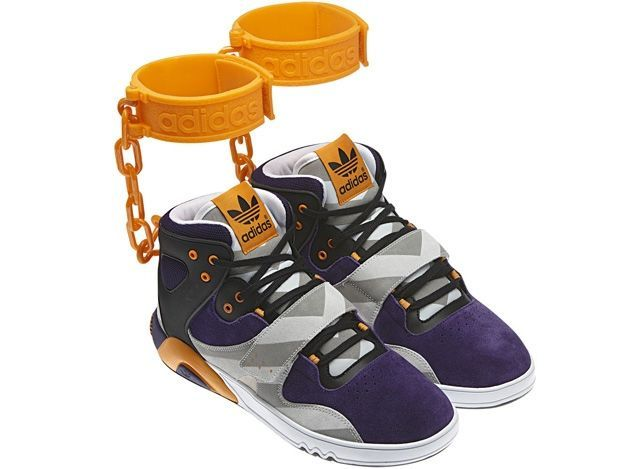 """Aufschrei lässt """"Sklaven-Schuh"""" von Adidas wieder von der Bildfläche verschwinden."""