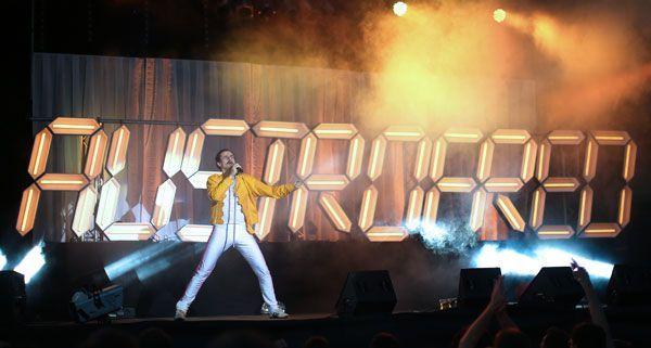 Kult-Star Austrofred gab am Samstag auf der FM4-Bühne beim Donauinselfest alles.