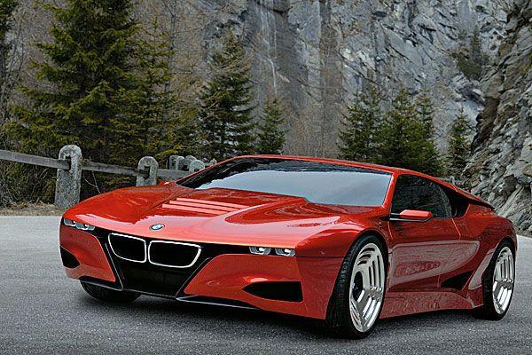 """Schon vor vier Jahren deutete sich ein Comeback an, als BMW das """"M1 Hommage Car"""" vorstellte: eine zeitgemäße Interpretation des M1-Designs."""