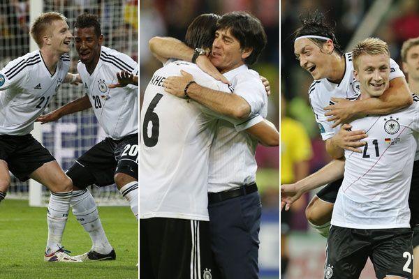 Deutsche zogen nach Portugal als zweites Team ins Halbfinale ein.