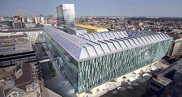So soll das zentrale Finanzamt am Bahnhof Wien-Mitte aussehen.