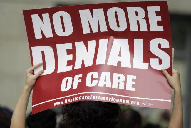 """""""Obamacare"""": Republikaner wollen Gesetz nach wie vor zu Fall zu bringen."""