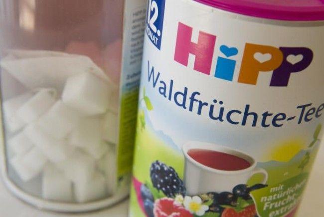 "Hipp bekommt für zuckrige Kindertees ""Goldenen Windbeutel""."