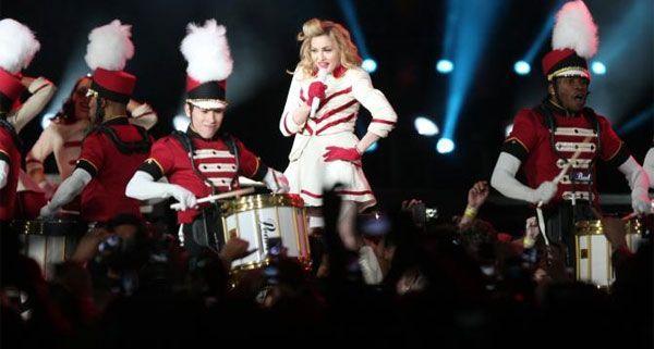 Madonna sorgte für Aufregung bei ihrem Konzert in Istanbul.