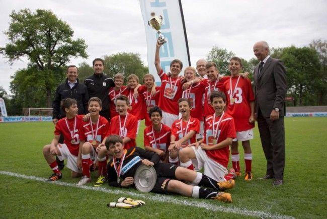 Die SMS Hohenems will beim Bundesfinale der Fußball-Schülerliga überraschen.