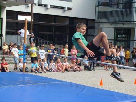 Tolle Leistungen beim Sommersporttag an der VMS Hittisau