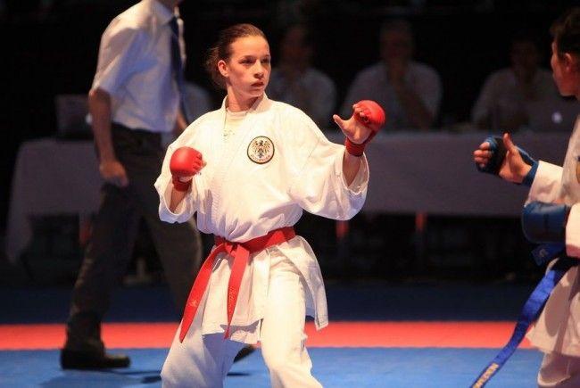 Bettina Plank vom KC Mäder holte WM Gold und Bronze.