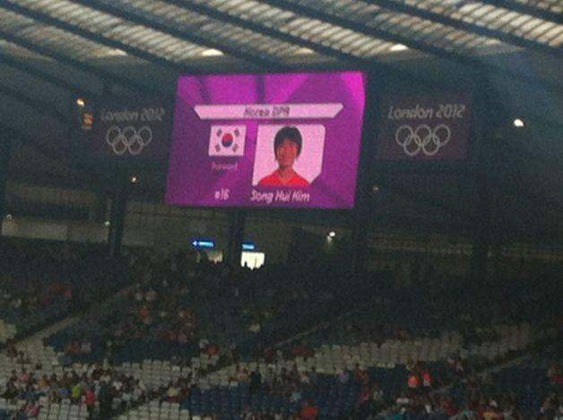 Die Olympischen Spiel beginnen mit einem Hoppala: Südkoreanische Flagge für nordkoreanisches Team.