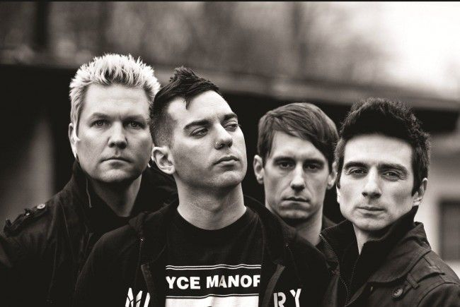 Am 10. August im Conrad Sohm: Anti-Flag