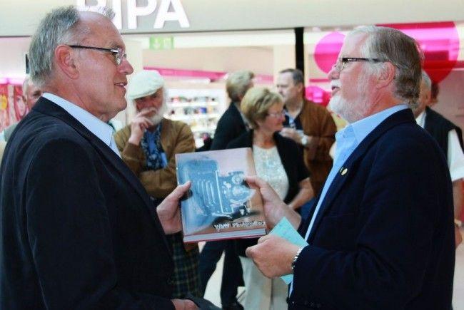 Altbürgermeister Hans Kohler und Herbert Gmeiner haben die Idee bravourös in die Tat umgesetzt.