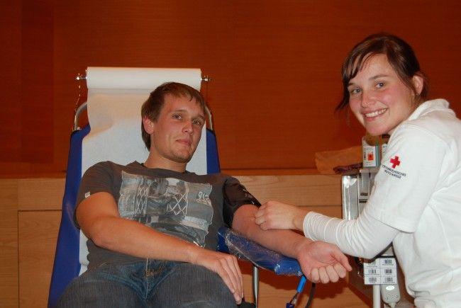 Blutspendeaktion in Feldkirch