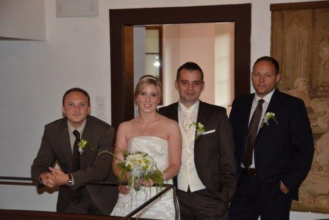 Sabrina Amann und Michael Schatzmann haben geheiratet.