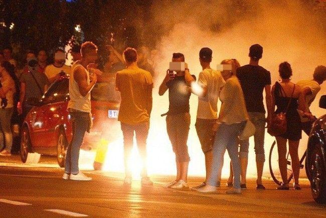 Facebook-Party in Klosterneuburg: Großeinsatz der Polizei