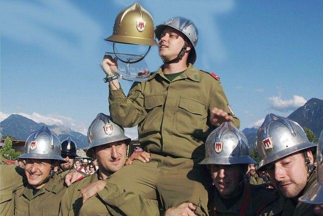 Ludesch holte sich zum vierten Mal den Goldenen Helm in die Blumenegg-Gemeinde.