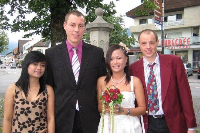 Aphidsada Wanna und Stefan Heinzle haben geheiratet.