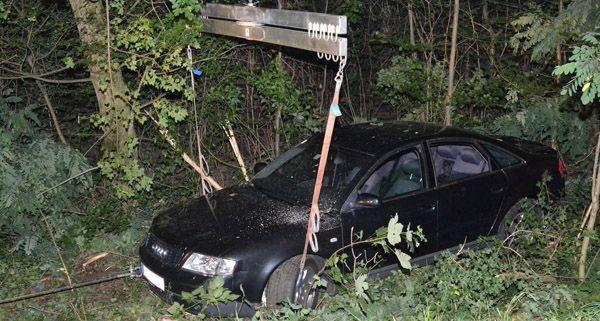 Verkehrsunfall auf der B212 bei Großau