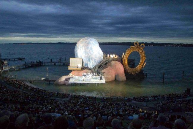 Start mit Wetterglück: Die Premiere am See konnte gestern Abend stattfinden.