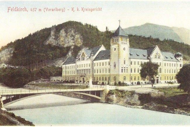 Die Franz Josef Brücke um 1910