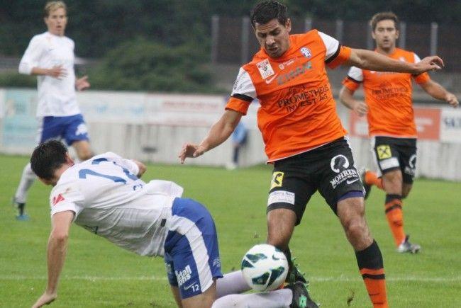 Ali Osman zählte zu den Aktivposten des FC Lustenau, spielte aber nur eine Stunde.