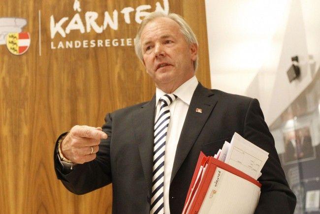 Kärntens Landeshauptmann Dörfler lehnt eine Neuwahl bisher kategorisch ab.