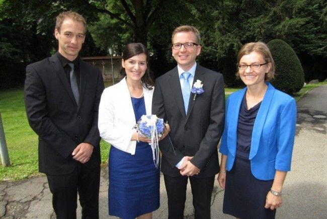 Elisabeth Mettauer und Thomas Stubler haben geheiratet.