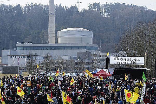 Umweltministerium steht hinter Vorarlberg gegen Schweizer AKW Mühleberg.