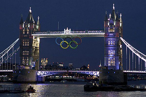 Die Olympischen Sommerspiele 2012 werden am Freitag in London feierlich eröffnet.