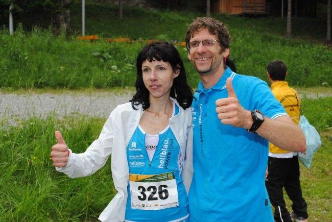 Petra Summer und Stefan Keckeis waren die schnellsten Vorarlberger am Muttersberg