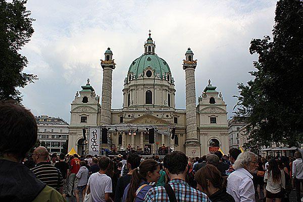 Trotz Schlechtwetter strömten die Massen zum Popfest