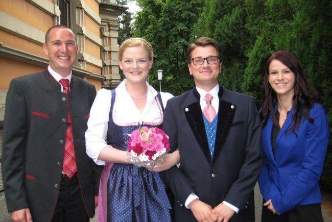 Mag. Bettina Rheinberger und Dr. Georg Weinhofer haben geheiratet.