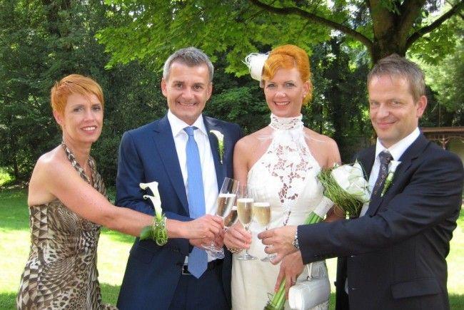 Simone Kainbacher und Nikolas Wierzbowski haben geheiratet.