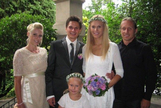 Sabrina Hehle und Stefan Hofer haben geheiratet.