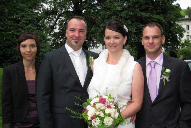 Michaela Tkalec und Georg Speckle haben geheiratet.