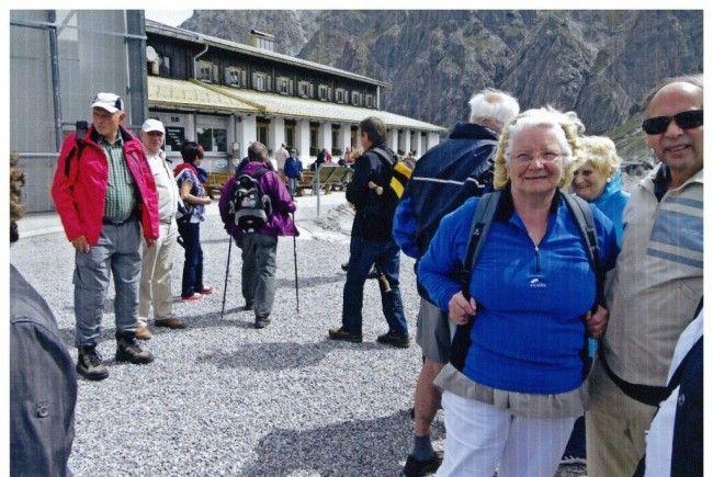 55 PVÖ-Mitglieder genossen den Lünsersee-Ausflug