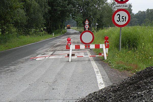 Die Senderstraße wird für vier Tage komplett gesperrt.