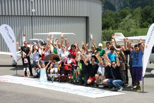 Wachter-Wohnen erfüllte Kinderwünsche am Flugplatz Hohenems