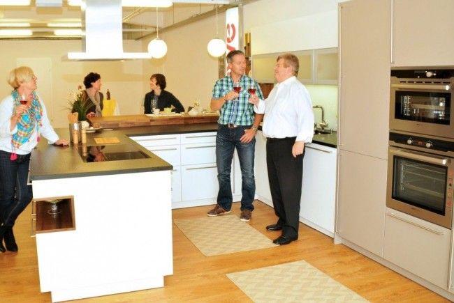 Das neue Küchenstudio von Helmut Barta in schoeller2welten in Bregenz