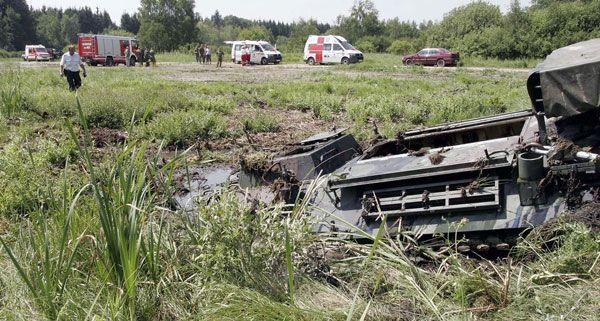 Der Endbericht zum tödlichen Panzerunfall in Allentsteig wird im August erwartet.