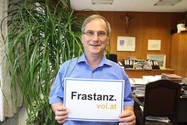 Bürgermeister Eugen Gabriel im Interview über anstehende Projekte in Frastanz.