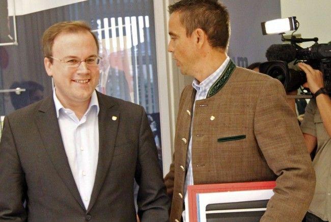 Verdacht der versuchten Geldwäsche gegen Harald Dobernig und Uwe Scheuch.